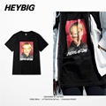 PUNK American Fashion Skateboard T-shirt HEYBIG custom clothing High quality Print tee shirt 2016 NEW hot CN SIZE tops