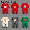 christmas baby rompers long sleeve rompers for baby clothes winter rompers new year costume