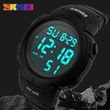 SKMEI Men Military Sports Watches Fashion Brand LED Watch Chrono 50M Waterproof Digital Wristwatches Relogio Masculino 1068