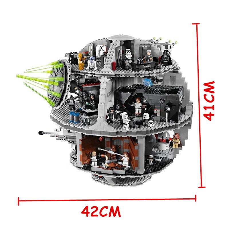 05035 Death Star 05007 Wars série briques blocs de construction compatibles Legoing 10188 75105 jouets pour enfants cadeau de noël-in Blocs from Jeux et loisirs    3