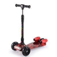 Детский скутер самокаты трехколесный игрушечной машинкой в сложенном виде travel,для детей от 3 лет