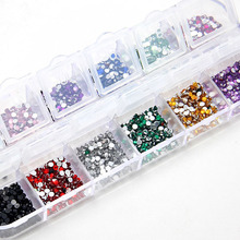 3600 pcs Bling Nail Art Rhinestones decoration For UV Gel Acrylic Systems