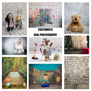 Image 4 - Glitters  Wooden Floor Photographic Backgrounds Vinyl Backdrops Photo Studio for Children Baby Shower Portrait Photobooth Decor