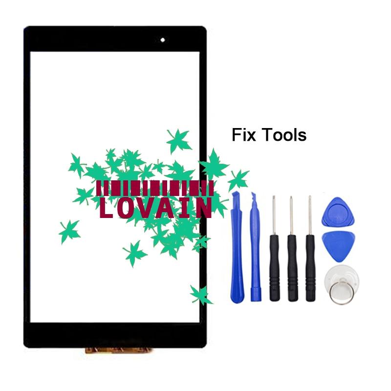 1 pièces (vérifié) SGP611 SGP612 SGP621 SGP641 écran tactile numériseur pour Sony Xperia Z3 tablette Compact panneau extérieur en verre + outils