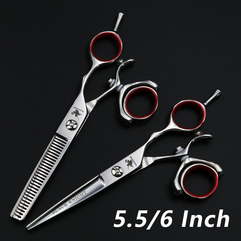 5.5/6 Inch Beauty Salon Cutting/Thinning Shears Tools Barber Shop Hairdressing Scissors Professional Scissors Set Styling Tools 6 inch fashion hairdressing scissors set of beauty tool is sharp and affordable for hair salon for barber 2 set