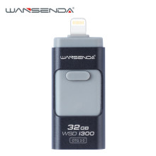 Wansenda-i300 usb 3.0 OTG USB Flash Drives for iPhone/iPad/ Android phone pen drive 16GB/32GB pendrive 3.0 otg usb memory stick