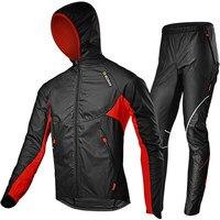 SOBIKE Men S Sportswear Running Suit Wiindproof Rainproof Bicycle Jackets Pants Ssts Warm Run Jersey Thermal