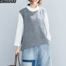 47e0da735 Buy women plus size knit sweater vest and get free shipping on ...