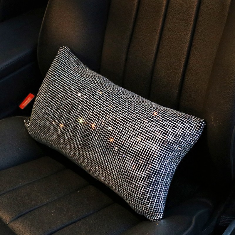 Luxury-Full-Crystal-Car-Headrest-Waist-Cover-Cute-Car-Interior-Accessories-6
