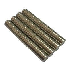 50 pcs N50 6mm x 2 milímetros Ímãs De Neodímio Strong Rare Earth NdFeB Ímã Craft Modelo Disco Folha de Frigorífico materiais magnéticos novo