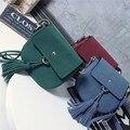 Woman crossbody bag Scrub Casual Shoulder Bags 5 Color High Quality PU Famous Brand Fashion Tassel Women Messenger Bags Small