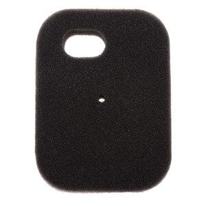 Image 2 - 1 個黒スポンジエアフィルタークリーナー交換ヤマハ PW50 交換オートバイエアフィルター 4.33 × 3.15 × 0.59 インチ