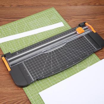 Прецизионный триммер для бумаги, бумажный резак для фотографий, портативный пластиковый триммеры для скрапбукинга, резак для офисной резки...