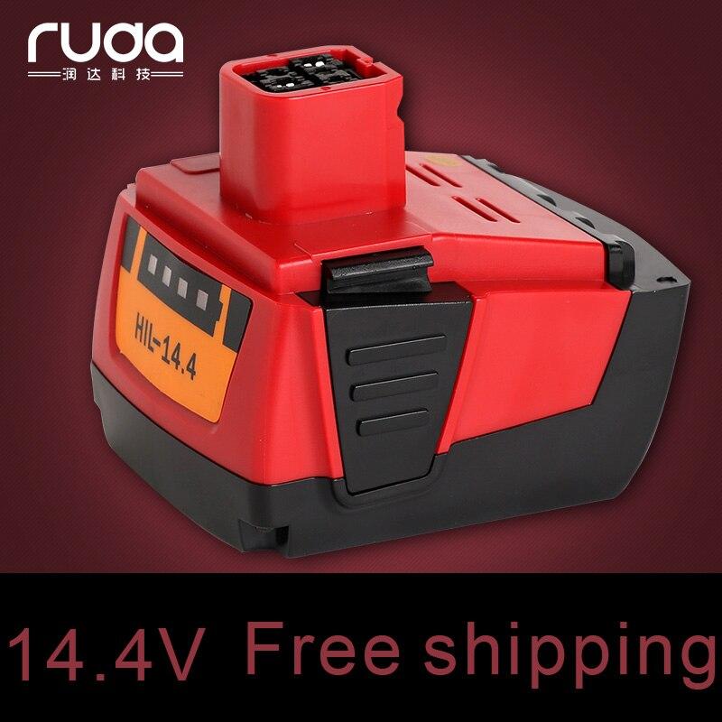 for Hilti power tool battery lithium 14.4VA 4000mAh B144,SF144-A,SFH144-A,SIW144-A,SID144-A electrical Li-ion 4.0Ah