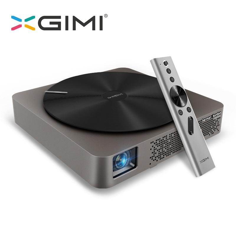 Prix pour D'origine XGIMI Z4 Aurora 3D Soutien 2 K Vidéo Wifi Android Airplay Pas D'écran TV Téléphone Intelligent DLP Mini Téléphone Portable projecteur