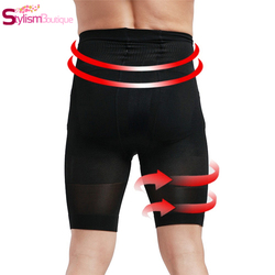 Men control boxer panties firm slimming high waist trainer bodysuit contour body shaper strong shaping slim.jpg 250x250