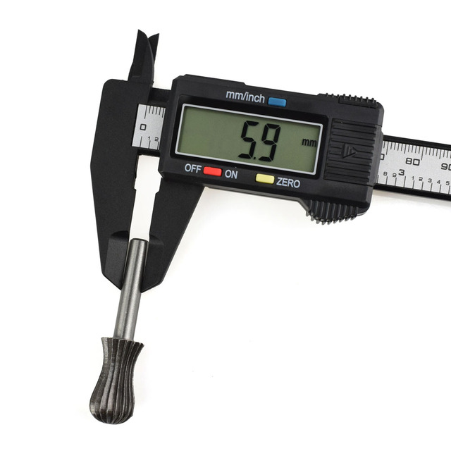 NEWACALOX Vernier Caliper 6″ 0-150mm/0.1mm Carton Fiber Composites Calipers Gauge Micrometer with Extra-Large LCD Screen