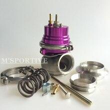 M'SPORTIVE-60 мм мусорный отсек-нержавеющая сталь V BAND 1 jzgte/SR20DET/JDM фиолетовый