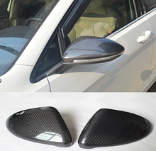 2pcs FULL REAL CARBON FIBRE REPLACE SIDE WING rear view mirror covers for VOLKSWAGEN VW GOLF 7 MK7 all models 2012-2015
