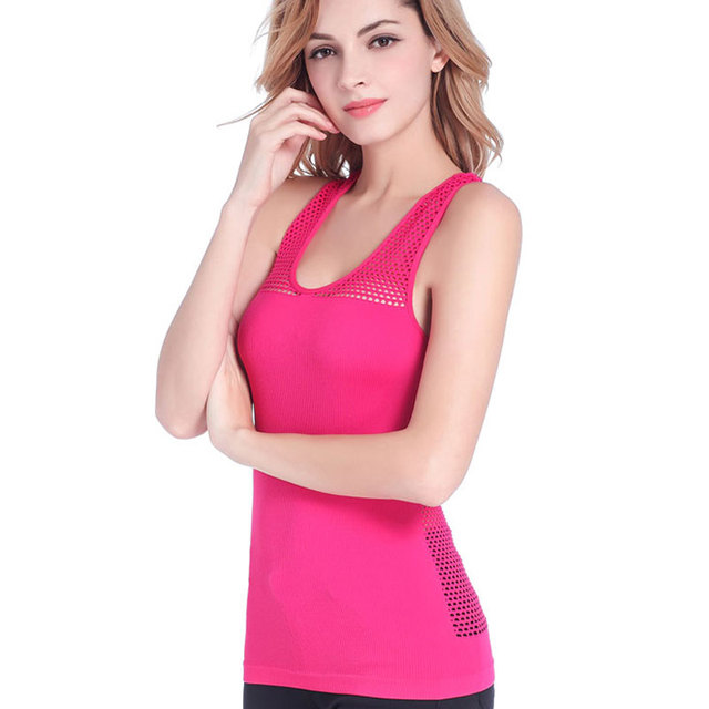 HEAL ORANGE Women Dry Fit Shirts Yoga Shirt Yoga Top Women's Sports Shirt Female Fitness Gym Clothing Women Yoga Tank Blusa Yoga