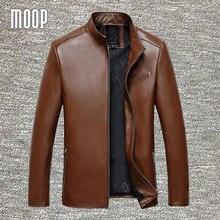 4Colors genuine leather jacket coats men sheepskin coat business jacke