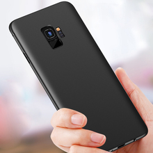 Luxury Slim Soft TPU Back Protect Skin Ultra Thin Phone Cover For Samsung Galaxy S9 Plus S6 S7 Edge S8 Plus Note 8 Note8 Cases