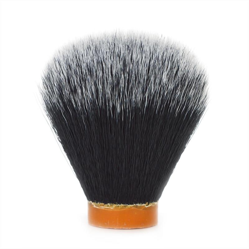 DSCOSMETIC 24mm 26mm Tuxedo Synthetic Hair Shaving Brush Knots For Man Diy Salon Artificial Fiber Hair