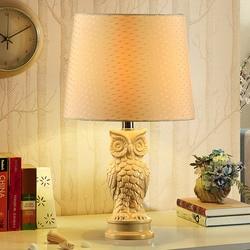 TUDA 30x49cm darmowa wysyłka w stylu amerykańskim ceramiczne stołowe lampa do sypialni stolik nocny lampa nowoczesna minimalistyczna sowa lampa stołowa E27 w Lampy stołowe LED od Lampy i oświetlenie na
