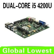 2015 New X31-i5 4200u mini motherboard 4200u mainboard industrial mini itx with 1*HDMI,6*USB for 1 lan port