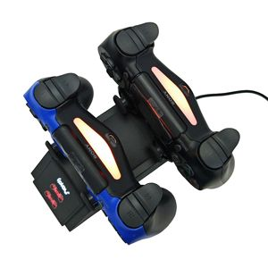 Image 4 - غمبد شاحن ل PS4 وحدة تحكم لاسلكية مزدوجة مقعد مصباح عرض ليد غمبد شاحن مزدوج ps4 شاحن لاسلكي المزدوج