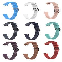 цена на Silicone Wristband Sports Strap Smartwatch Bracelet Watch Band for Fitbit Charge 3