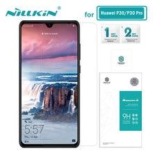 Закаленное стекло для Huawei P40 Lite Nillkin 0,33 мм Amazing H защита для экрана Huawei P30 стекло