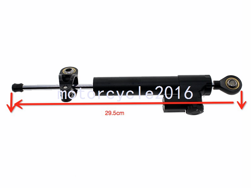 CNC Motorcycle Aluminum Alloy Black Steering Damper Stabilizer Adjustable For Kawasaki ZX6R 636 03-04 ZX6R 00-02 ZX6 ZX9R 98-99 universal cnc aluminum adjustable motorcycle steering damper for honda suzuki kawasaki triumph yamaha yzf r1 r6 zx6r zx636 z1000