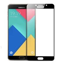 2 Pçs/lote Protetor de Tela Para Samsung Galaxy A3 A5 A7 2016/A9000 A9 Pro/J510 J710/A3 A5 A7 2017 Película Protetora Temperado vidro