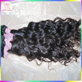 Crochet Oceánica Curl Wave 100% Virginal Mongol Del Pelo Humano Natural de la Armadura 3 bundles Bruto Raw KissLocks