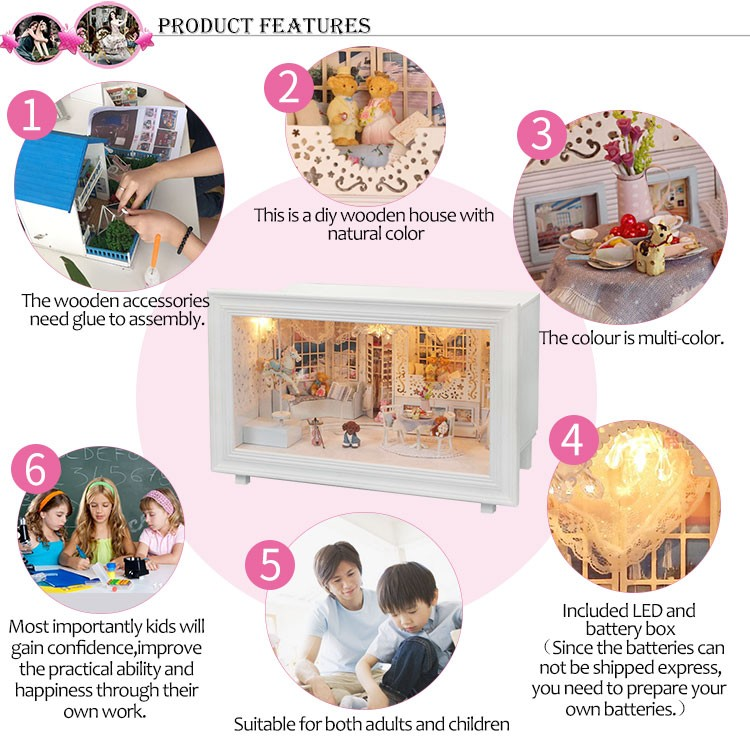 Princess Dream DIY 3D Frame Miniature