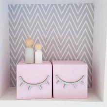 Cílios de madeira estilo nórdico, blocos de construção de madeira, decoração para quarto de bebê, foto artesanal, 1 peça adereços