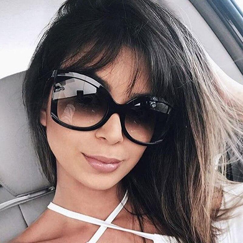 ROYAL GIRL Brand Designer Butterfly Sunglasses for women oversize Retro wrap Sun glasses UV400 Shades ss127
