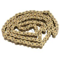 New Motorcycle 428 x 136 O Ring Heavy Duty Drive Chain 428H 136L Gold For Yamaha YZ80 YZ85 Masterlink For KTM KX85 SMALLWHEELS