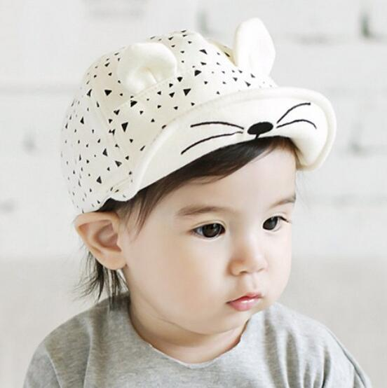 все цены на 1 Piece Cotton Cat Infant Sun Summer Outdoor Girls Unisex Boys Baby Hats Baseball Cap Cute 2 colors Toddlers
