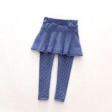 New Baby Kid Pantskirt Girl Wool Culotte Pants Child Legging Trousers Dress