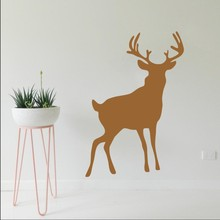 Popular Standing Deer Art Design Wall Sticker Self Adhesive Mural Home Livingroom Decor Waterproof Y-717