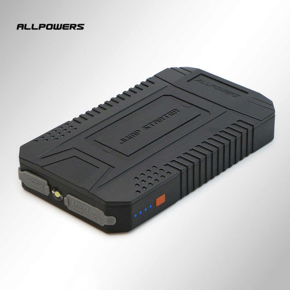 Allpowers 12V Output Vehicle Emergency Starting Power Supply Power Bank 8000mAh High Capacity External Battery Pack