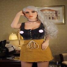 148cm/158cm/165cm אמיתי בובות מין לגבר גודל של חיים מלא TPE עם מתכת שלד כמו בחיים אמריקאי Perfectl גוף מין בובה