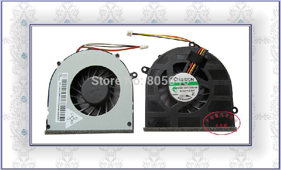 SZZC For For Thinkpad G470 laptop cooling Fan  MG60120V1-C030-S99 DC5V 2.0W Fan 4 Pin  cable