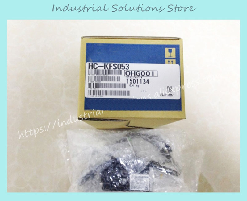 New Original AC Servo Motor HC-KFS053 yaskawa ac servo motor sgm a5a3nt14 second hand looks like new tested working