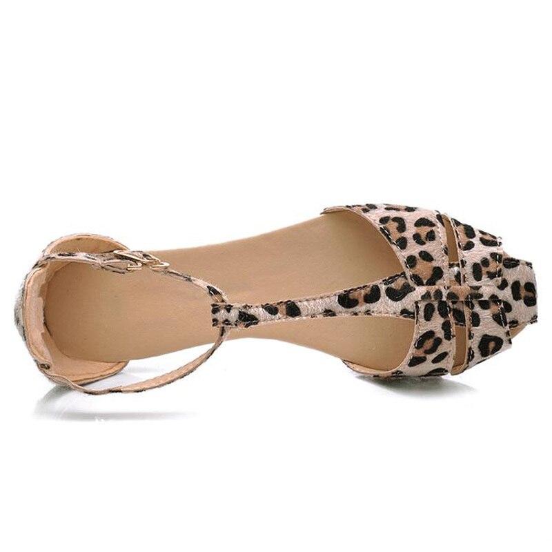 Flat Shoes Leopard