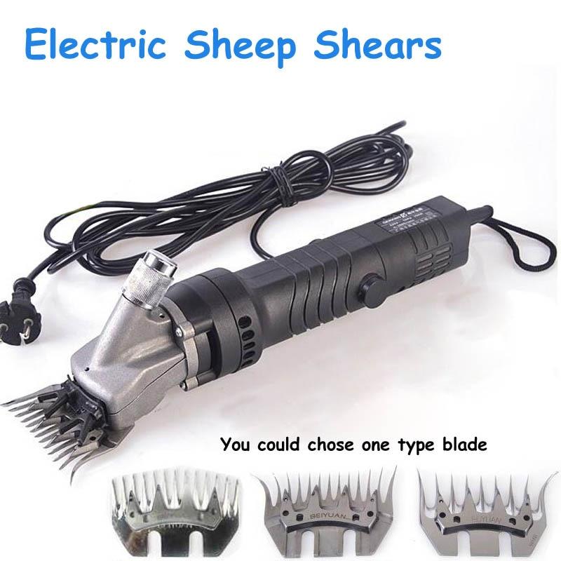 350W Electric Sheep Shears Energy-saving Scissors Wool Fader Goats Cutting Machine Clipper Shears Electric Wool Shear