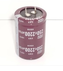 12PCS 2200UF 250V 250V2200UF 2200uf250v Capacitance High Quality Aluminum electrolytic capacitors 35 50mm New Origina