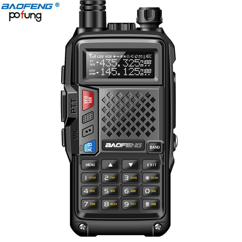 2018 BAOFENG BF-UVB3 PLUS 8 watt High Power UHF/VHF Dual Band 10 km Lange Palette Thickenbattery Walkie Talkie mehrere Lade Modus